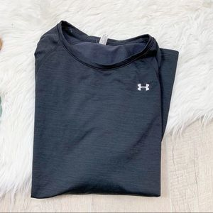 Under Armour Tops - Under Armour Blue Athletic Long Sleeve Shirt 1759